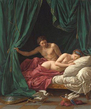 Frieden mit Mars und Venus, Lagrenée l'aîné - 1770 von Atelier Liesjes