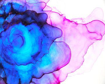 Blue Nebula 2 / Blauwe Nevel 2 /Blauer Nebel 2 van Joke Gorter
