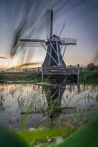 Le moulin hollandais The Helper à Groningen sur Vincent Alkema