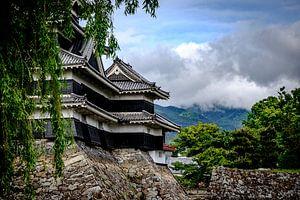 Matsumoto Castle in de Japanse Alpen