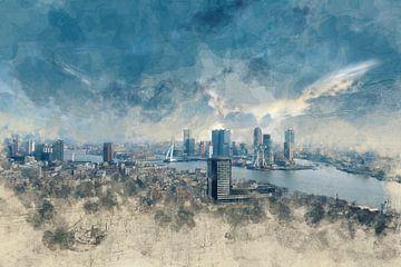 Skyline Rotterdam sur Arjen Roos
