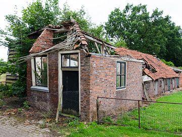 Bouwvallige boerderijtje van Willem Visser