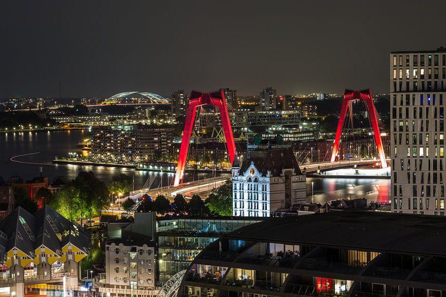 De iconen van Rotterdam van MS Fotografie