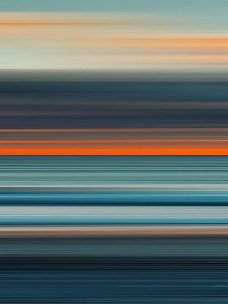 Paysage Abstrait 10 van Angel Estevez