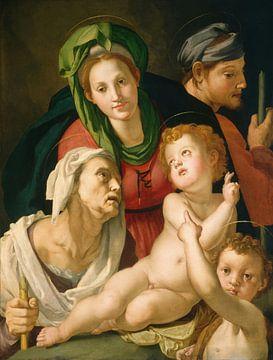 Die Heilige Familie, Bronzino