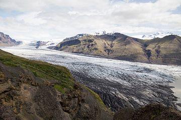 Skaftaffelsjökull-gletsjer van Ewan Mol