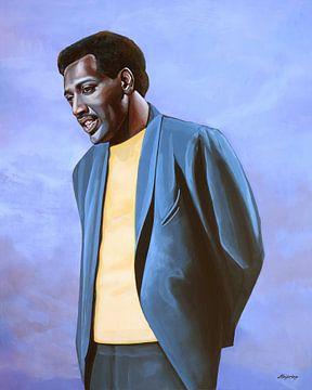 Otis Redding Schilderij von Paul Meijering