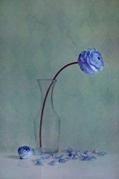 blaue Schönheit von Claudia Moeckel