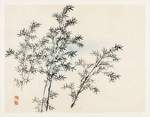 Bamboe door Kōno Bairei (1844-1895).