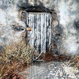 Oude deur van Annemie Hiele