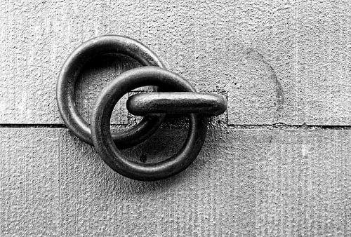 Ringen op een kade (4)