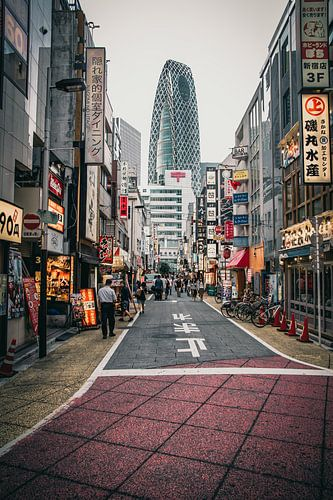 Straten van Shinjuku, Tokyo van Sascha Gorter