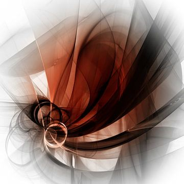 dark veils van Isa Bild