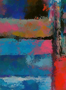 Abstrakte Zusammensetzung 1142 von Angel Estevez