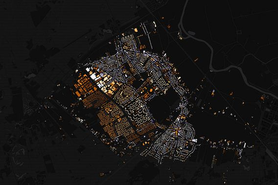 Kaart van Soest van Stef Verdonk