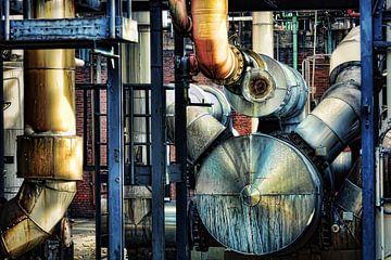 Chemische machine trommel van Gabsor Fotografie