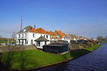 Traditionele Nederlandse dijkwoningen. van Jarretera Photos