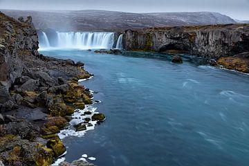 Godafoss Iceland van Ben van Boom