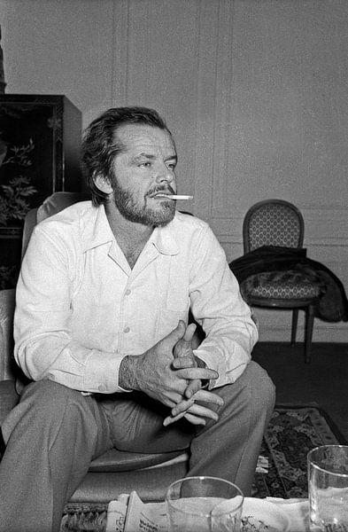 Jack Nicholson, Paris 1974 von Bridgeman Images