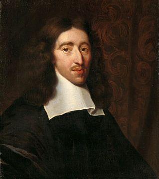 Portrait de Johan de Witt, Caspar Netscher sur