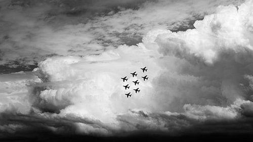 Patrouille de France, 6 juni 2014 Herdenking 70 jaar D-Day van Cor Ritmeester