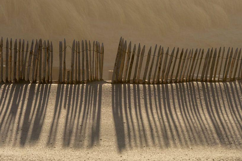 Linienspiel mit Schatten von Peter Sneijders