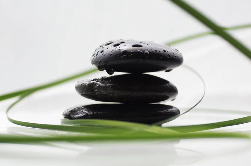 Spa stenen van Tanja Riedel