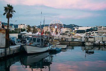 Cannes In De Avond van Patrycja Polechonska