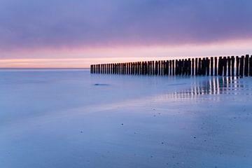 Dreamy sunset van Gijs de Kruijf
