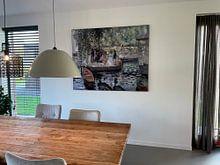 Kundenfoto: La Grenouillere - Pierre-Auguste Renoir, als akustikbild