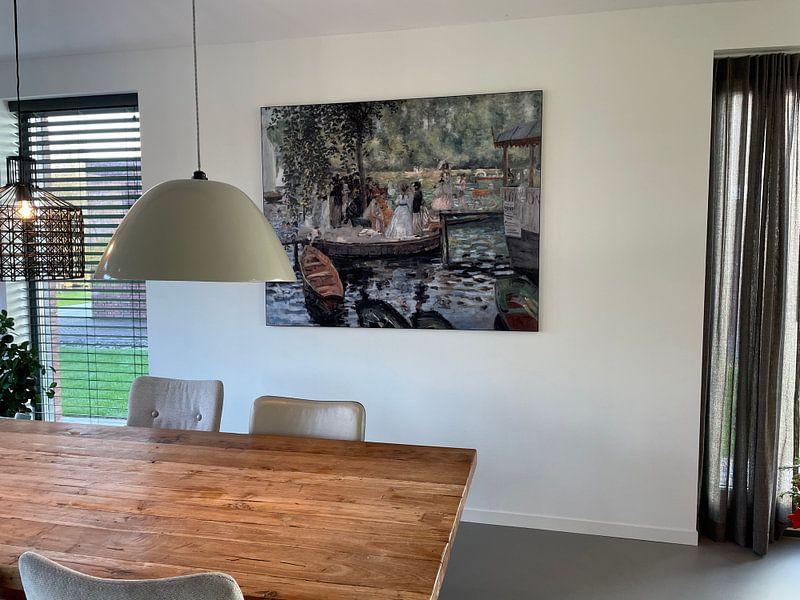 Kundenfoto: La Grenouillere - Pierre-Auguste Renoir