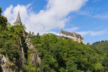 kasteel van Vianden van Francois Debets