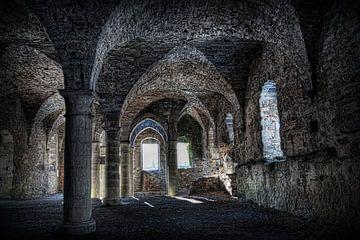 Ruine der Abtei von