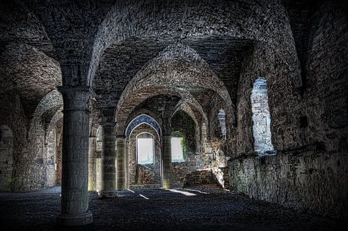 Abdij ruine