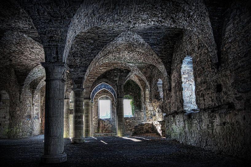 Ruine der Abtei von Eus Driessen