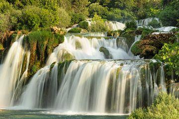 Skradinski Buk Wasserfall, Nationalpark Krka, Kroatien von Markus Lange