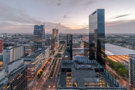Delftse poort gebouw-  Rotterdam - HDR van AdV Photography