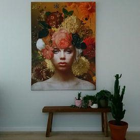 Kundenfoto: Des Malers Muse von Marja van den Hurk