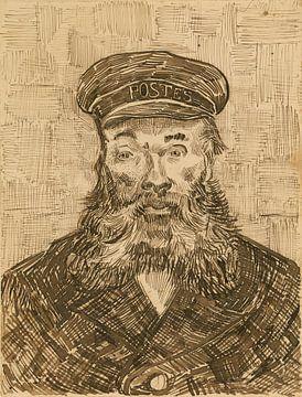 Porträt des Briefträgers Joseph Roulin, Vincent van Gogh