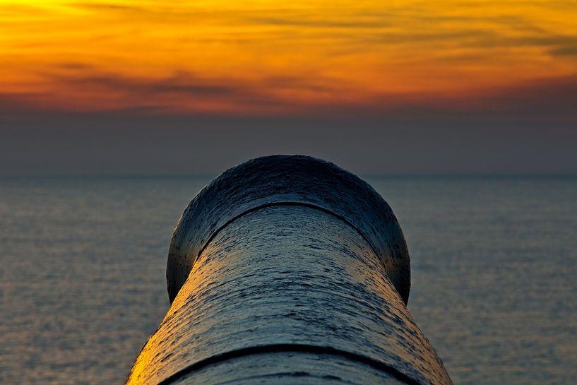 Kanon te Vlissingen 2 van Anton de Zeeuw