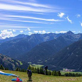 Karnische Alpen in Oost-Tirol van Leopold Brix