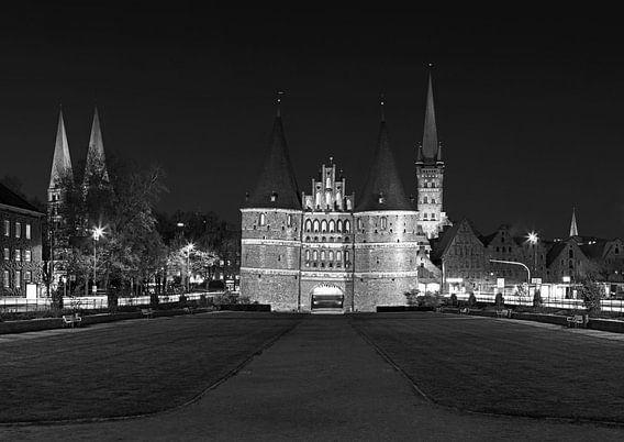 Lübeck Holstentor Panorama
