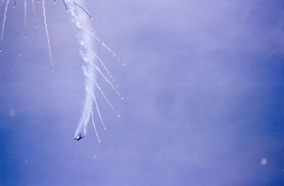 F16 Flare-Feuerwerk