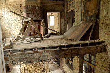 Kasteel in renovatie van Nanne Bekkema