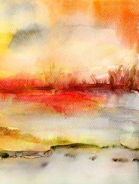stilles Gewässer von Claudia Gründler