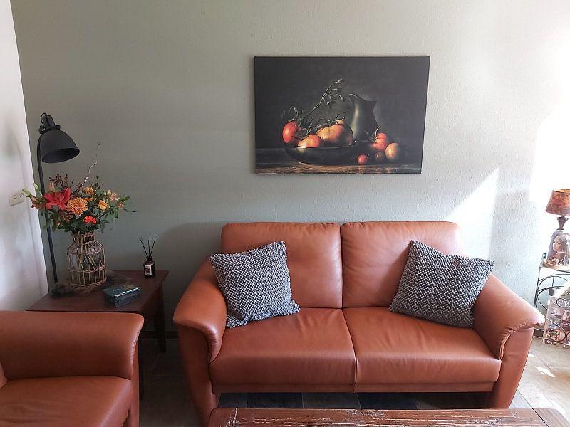 Kundenfoto: Stilleben Sommer von Monique van Velzen, auf leinwand