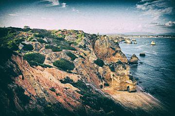 Portugal - Lagos - Praia do Camilo sur Jacqueline Lemmens