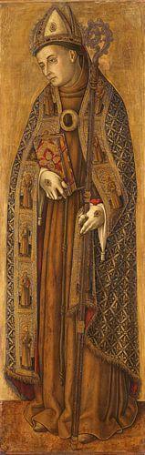 De heilige Lodewijk van Frankrijk - Vittore Crivelli
