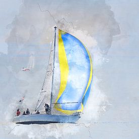 Sailing home von Art by Jeronimo