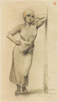 Stehendes Mädchen, Armand Rassenfosse von Atelier Liesjes